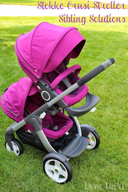 Stokke Crusi Stroller with Siblings Solution makes this a multifunctional stroller