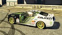Paintjob Monster Energy para Dominator para GTA 5