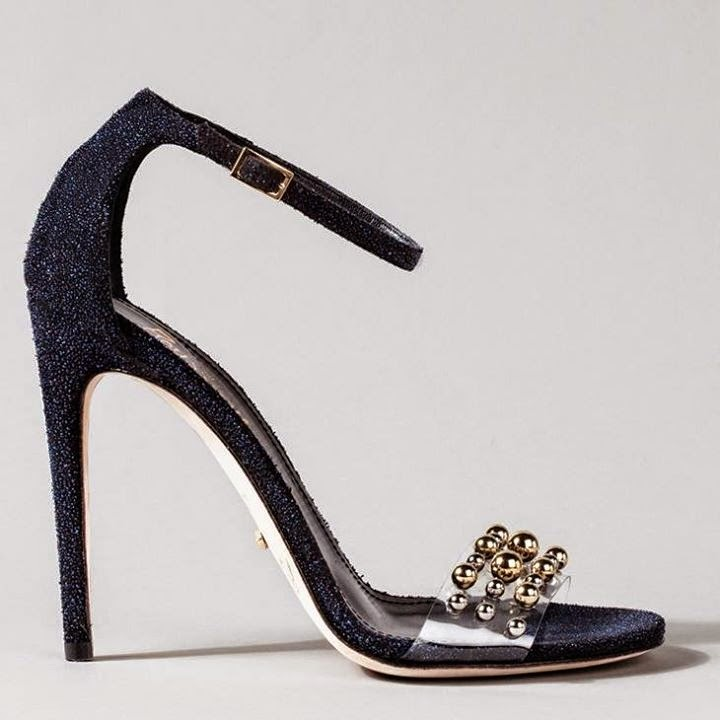 Black Bridal High Heels Ideas...