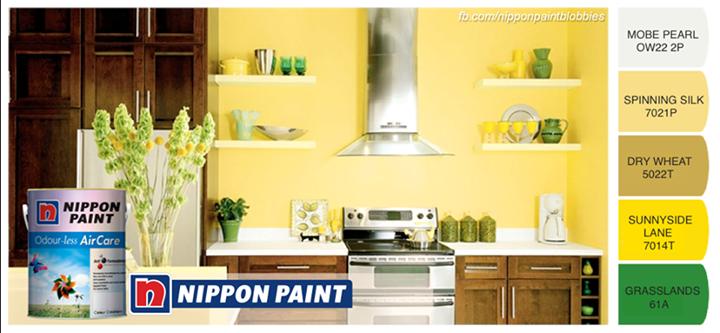 Ceriakan Dapur Anda dengan Nippon Paint Color ~ Dekorasi