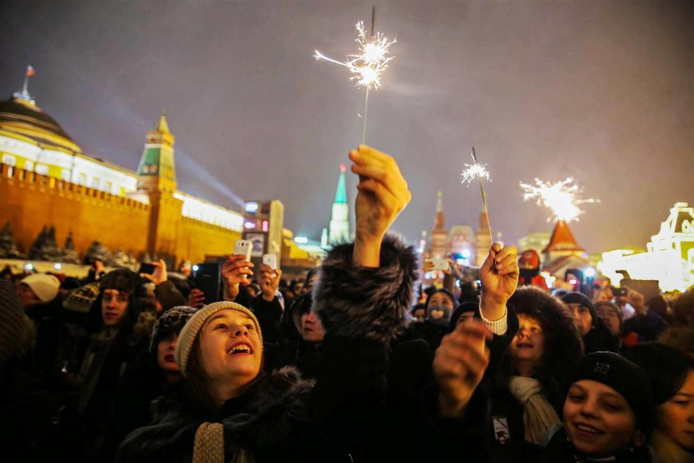 Tahun Baru di Moscow