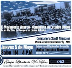 Sesion especial seminario: El Movimiento Anarco Comunista en Estados Unidos