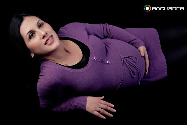 fotografía mujer embarazada