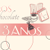 [Promoção] - Livros e Chocolate 3 Anos!