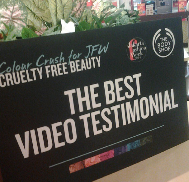WINNER:The Body Shop Video Testimonial