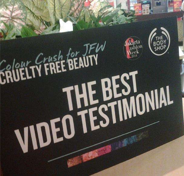 WINNER:The Body Shop Video Testimonial