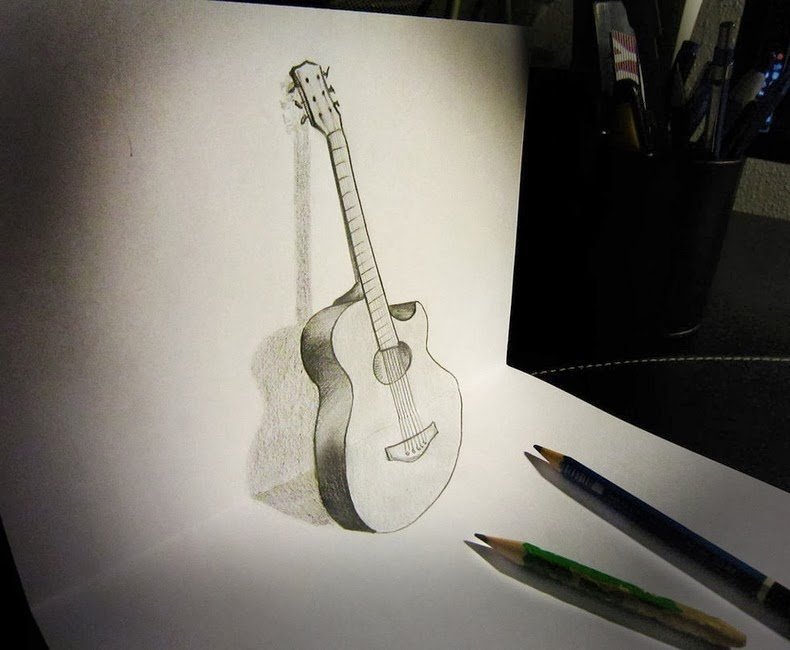 Awesome drawings 3d for your pictuers for Pictures of awesome drawings