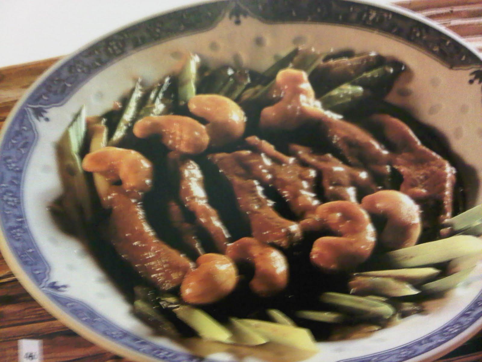 La cucina cinese manzo in salsa d 39 ostriche for Piatto tipico cinese