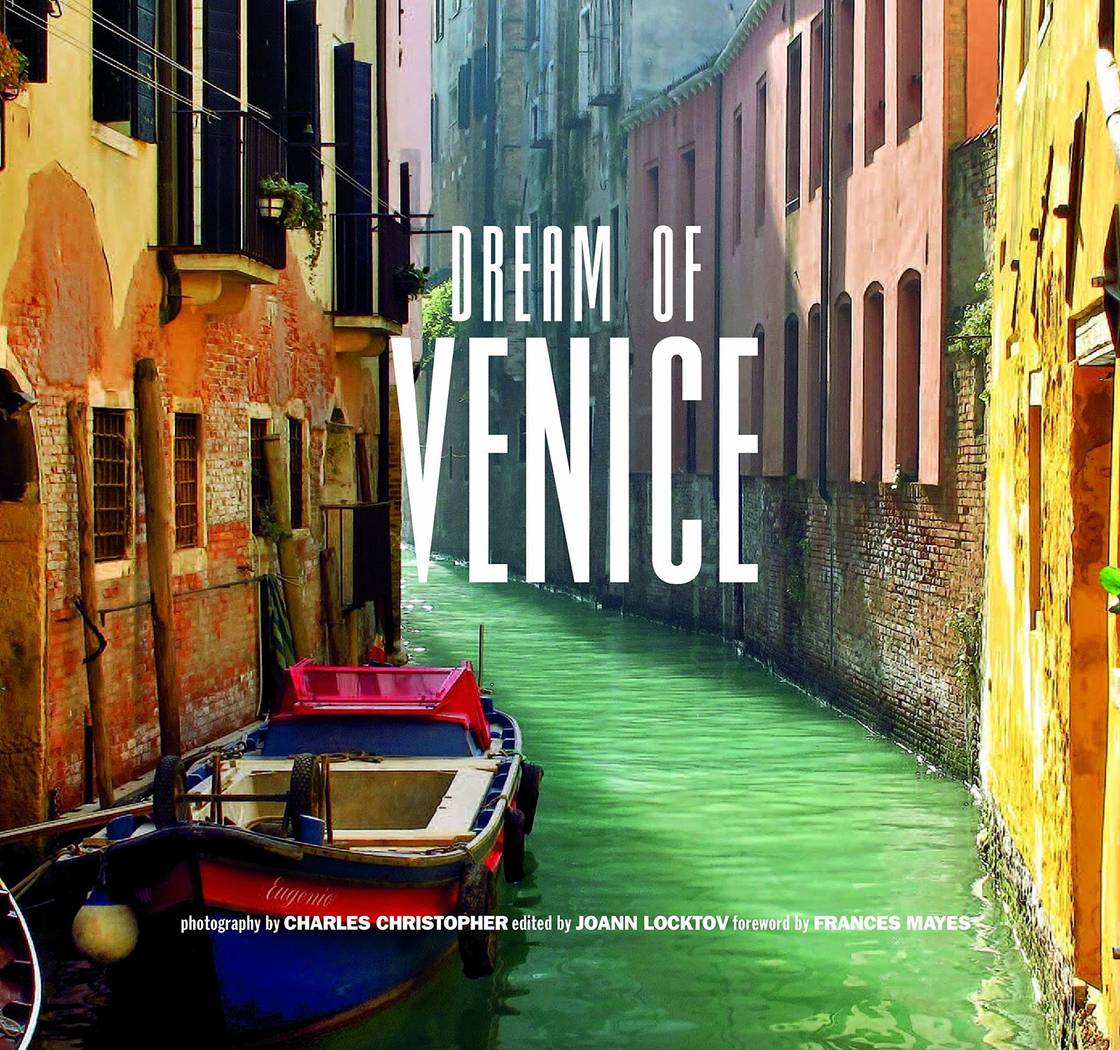 Click Book Cover to order Dream of Venice via Amazon U.S. - $20.01  Release date December 5, 2014