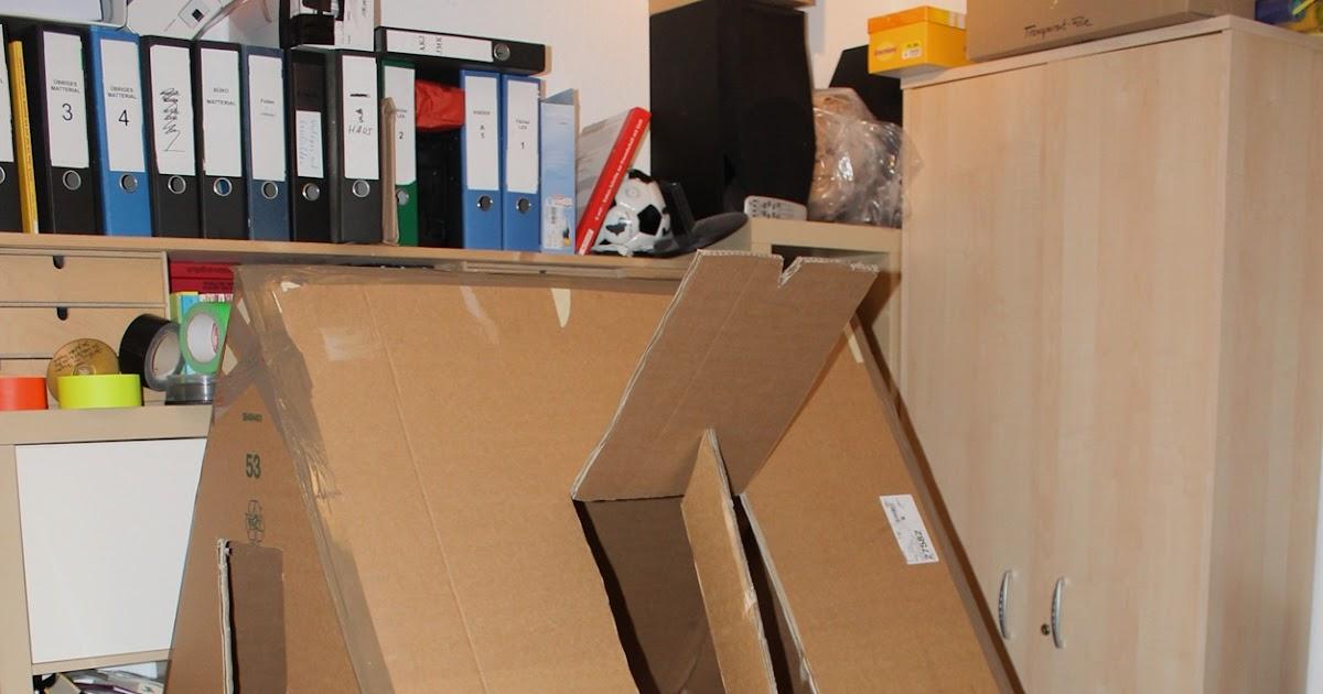 kreative kiste spielhaus f r kinder aus pappe karton mit. Black Bedroom Furniture Sets. Home Design Ideas