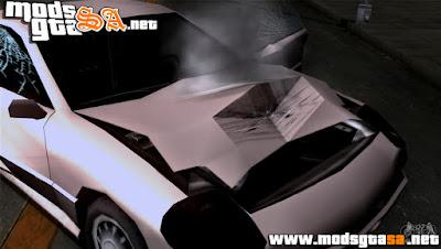 SA - Texturas Reais nos Danos do Veículos