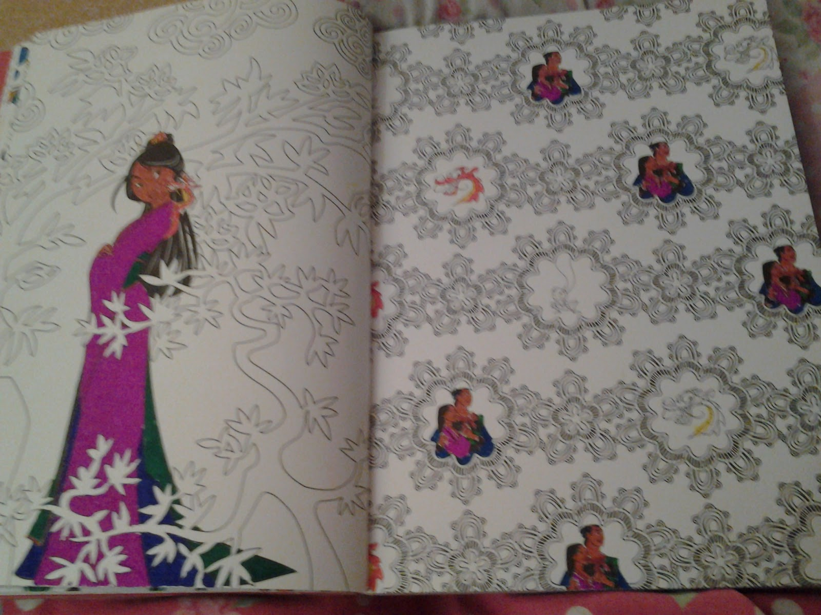 Disney coloring therapy - Colouring Mulan Is Fun Tried To Give Her Royal Colours O