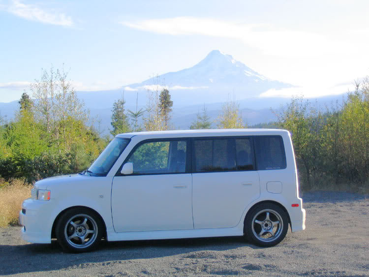 My XB In Near Mt. Hood In Oregon