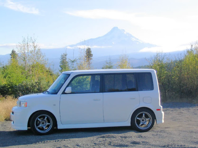 My xB in near Mt. Hood in Oregon