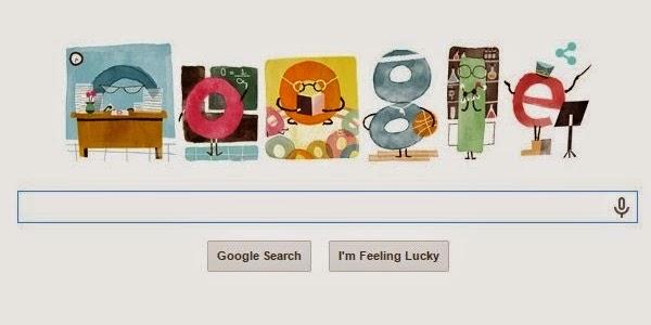 Google Doodle Today : Hari Guru Nasional