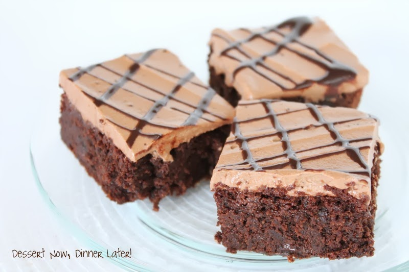 Triple Chocolate Brownies - Dessert Now, Dinner Later!