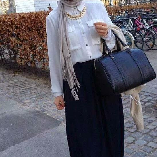 fashion hijab clothes 2014 picture 2