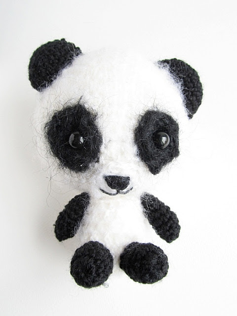 Gratis Amigurumi oppskrift på Panda