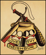 love thy neighbor tattoo old school