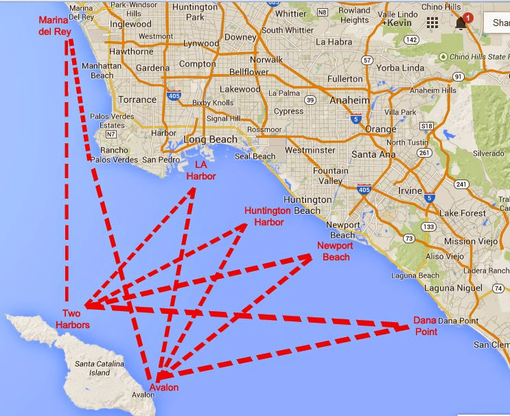 taking your boat to Catalina Island