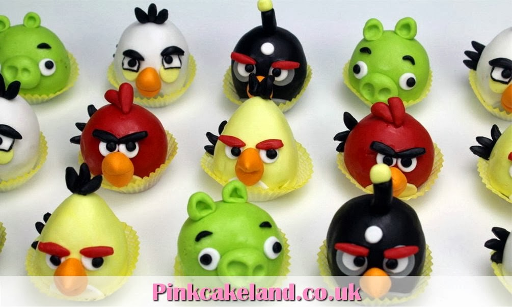 Angry Birds Cake Pops - London Cakes