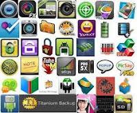 Aplikasi ponsel dan komputer