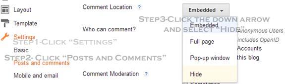 hide-blogger-comment-form