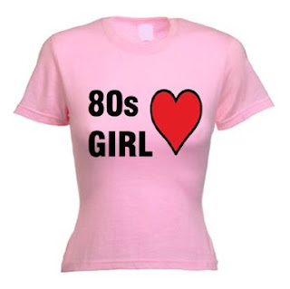 eighties t-shirt for ladies