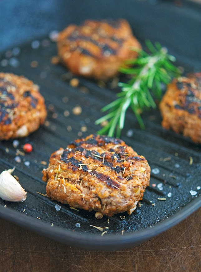 Simple Kofta Burgers
