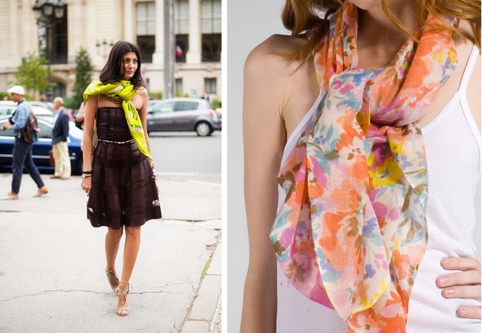 stephmodo how to wear scarves edition