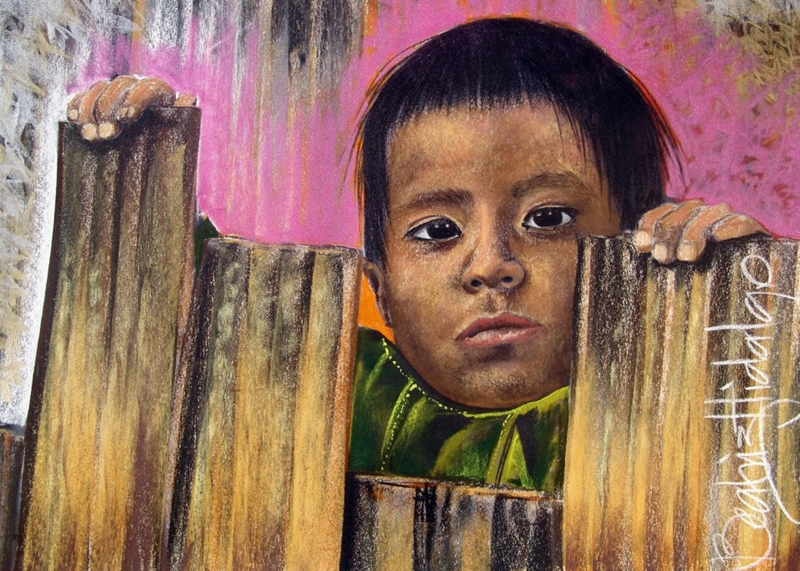 Beatriz Hidalgo De La Garza 1967 | Mexican Portrait painter | Soul of Mexico