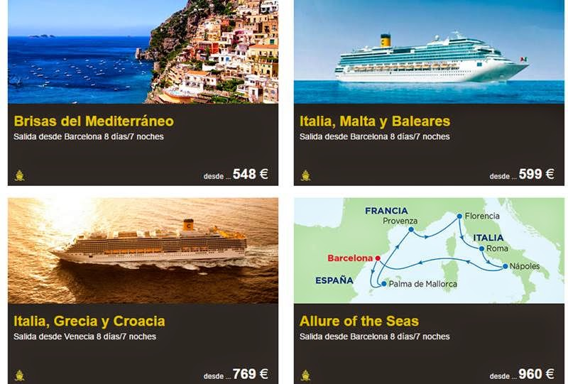 cruceros de viajes carrefour black friday 14