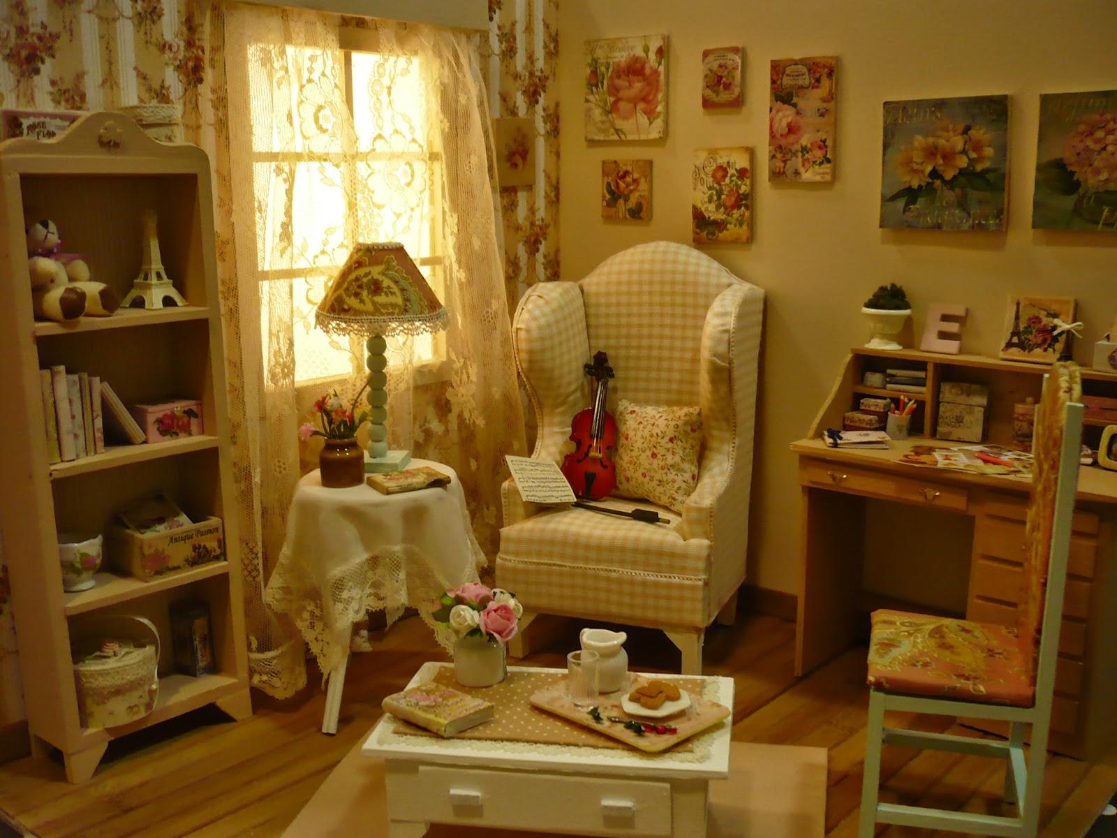 Muebles y complementos en escala 1 6 vintage diorama - Muebles y complementos ...