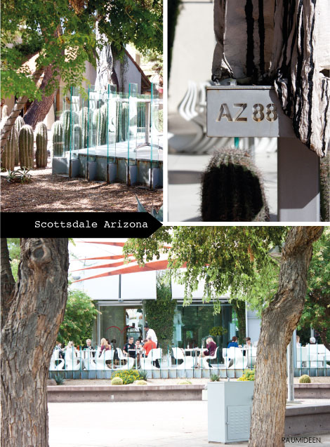 Das AZ 88 in Scottsdale, Arizona