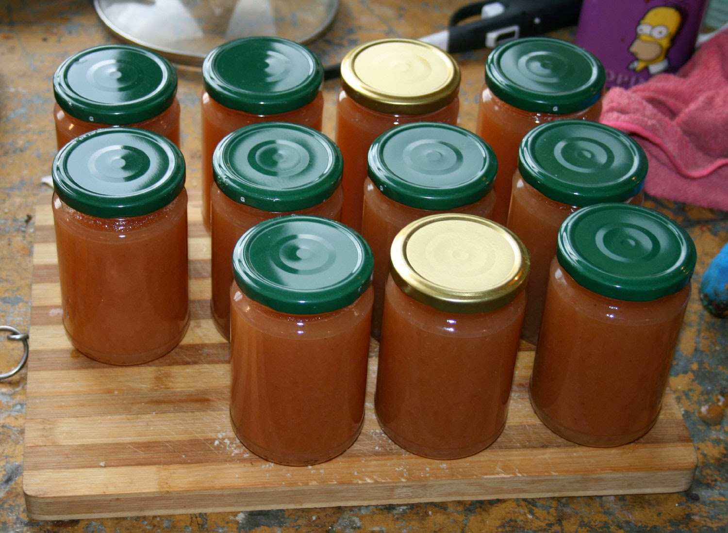 Lots and lots of Quince jelly