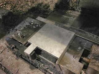 bloco de alumínio