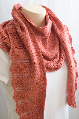 knit pattern shawl, knit pattern scarf