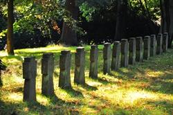 Auf dem Ehrenfriedhof...