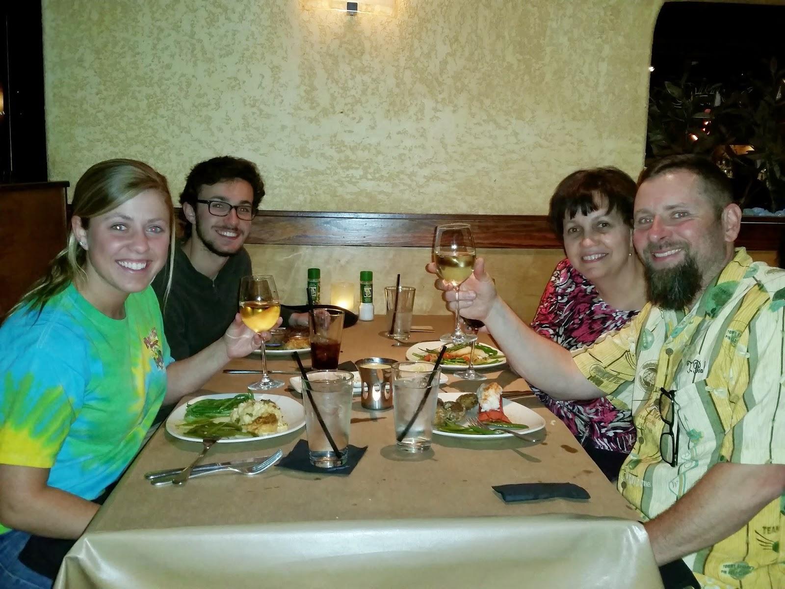 Taylors Wine Blog Wine Dinner Bonefish Grill