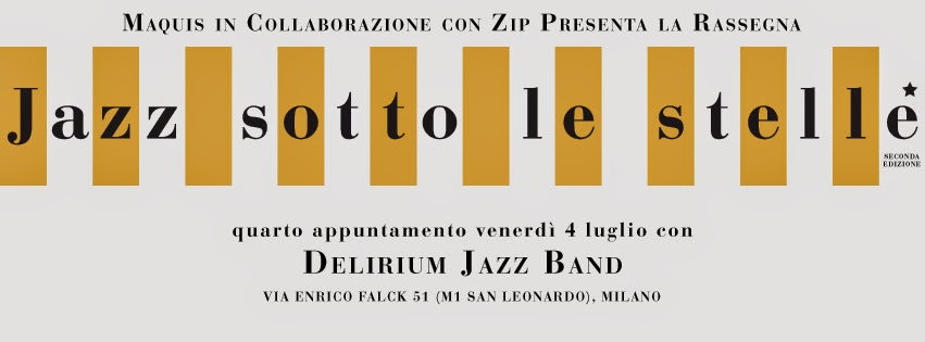 musica jazz a milano nel weekend: jazz sotto le stelle con MAQUIS