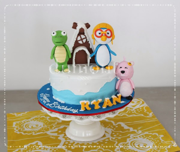 Dumont Cake Pororo cake for Ryans 3rd birthday