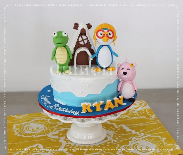 Pororo Cake Decoration