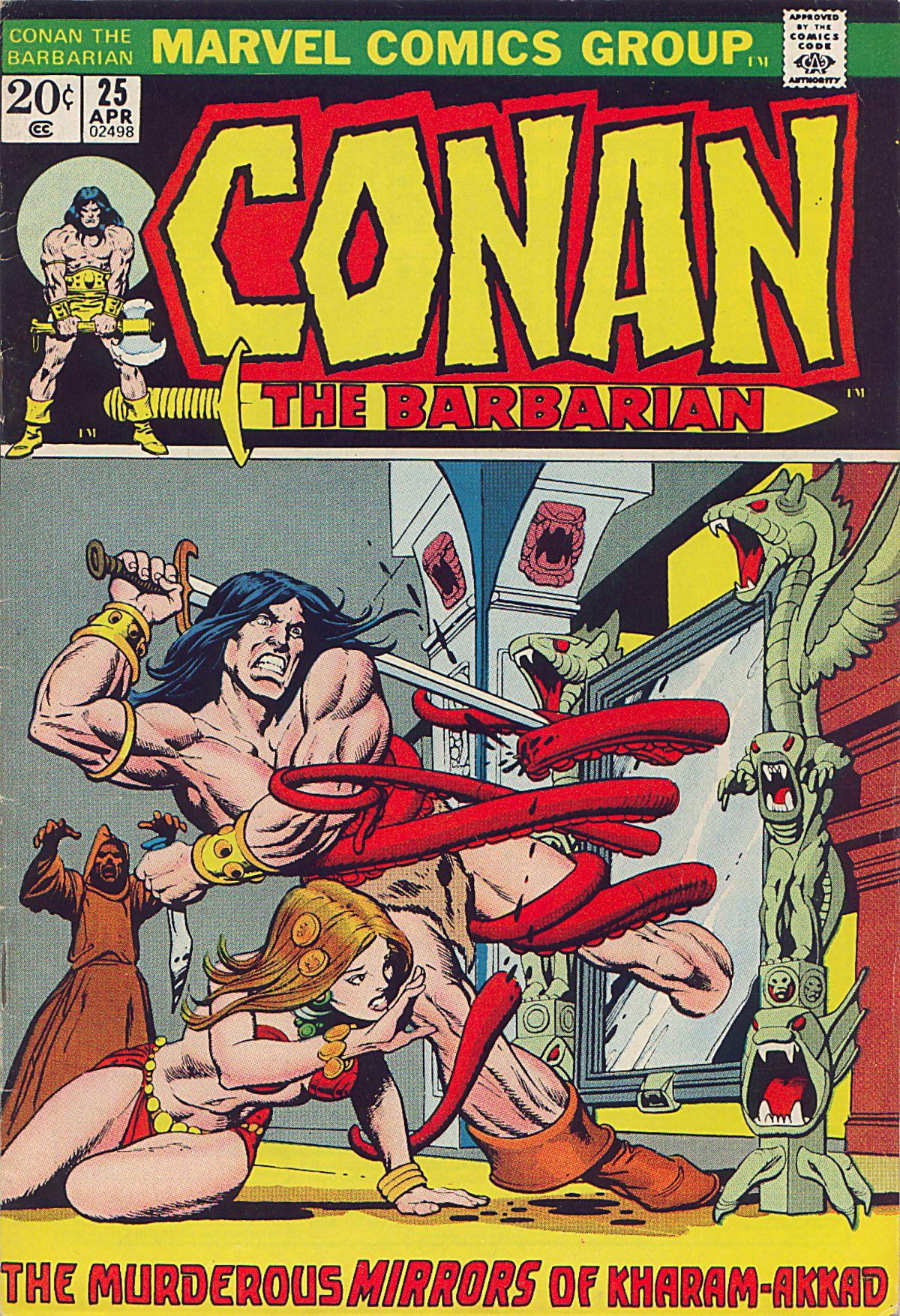 Conan the Barbarian (1970) Issue #25 #37 - English 1