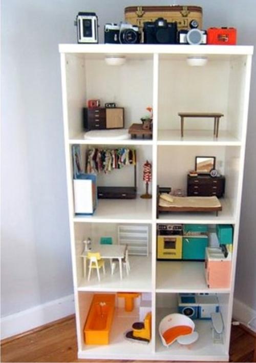 La divina carolina inspiraci n ikea estanter a expedit for Ikea casa bambole
