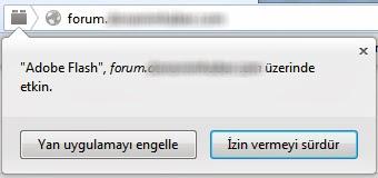 Firefox Siteye Özel Uygulama Engelleme
