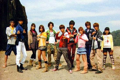 Goseiger vs Shinkenger Roll Call