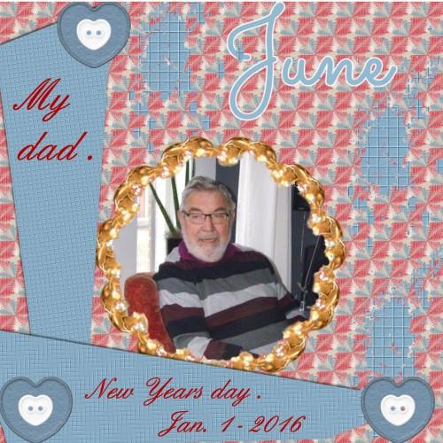Feb.2016 – My dad