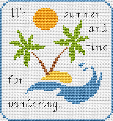 free cross stitch pattern by alitadesigns.com