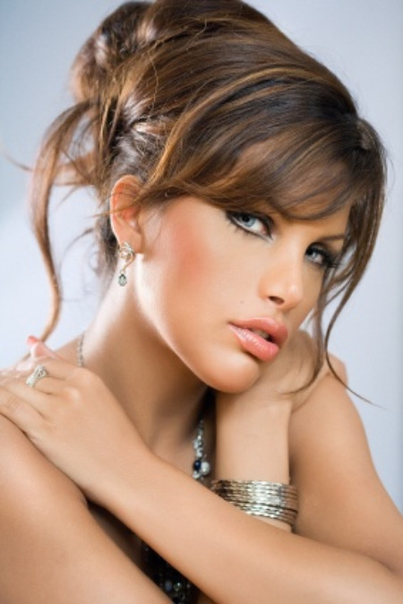 Bob Hairstyles With Bangs Updo Hairstyles