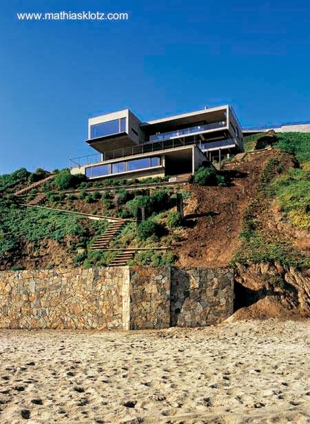 Moderna casa de playa cerca de Santiago de Chile
